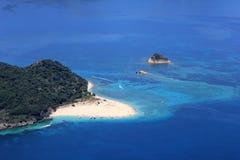 Overview on Zakynthos island stock image