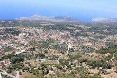 Overview on Zakynthos island Stock Photos