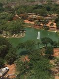 Overview of a zoo in Mexico. Mexico Zoo overlook, gorgeous Royalty Free Stock Image