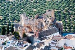 Overview Zuheros, Córdoba Royalty Free Stock Image