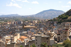 Overviewing Castellammare del Golfo, Sicily, Italy Royalty Free Stock Images