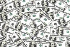 Overvloed van dollar royalty-vrije stock fotografie