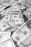 Overvloed van dollars Stock Foto