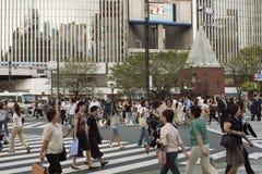 Overvol Tokyo Royalty-vrije Stock Foto's