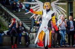 Overwatch cosplay at Sci-Fi Scarborough Stock Photography