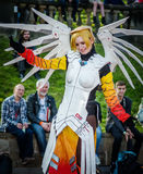 Overwatch cosplay at Sci-Fi Scarborough Royalty Free Stock Images
