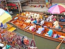 Overwater-Markt Stockfotos