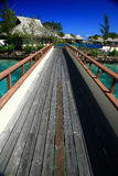 Overwater pontoon Stock Photos