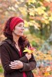 Overweeg de Herfst Stock Afbeelding