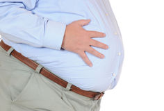 Overweight Royalty Free Stock Images