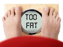 overweight Immagine Stock Libera da Diritti