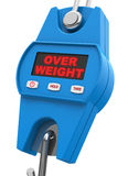 overweight ilustração stock