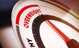overweight ilustração do vetor