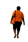 Overweight african american Royalty Free Stock Photo
