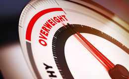 Overweight Royalty Free Stock Image