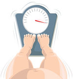 Overweight concept Stock Photos