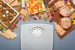 Overweight concept Stock Photo