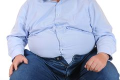 Overweight Royalty Free Stock Photo