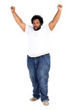Overweight man Stock Photo