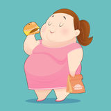 Overweight People Stock Photo