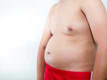 Overweight problem Royalty Free Stock Photography