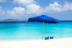 Overweldigend strand in de Caraïben Royalty-vrije Stock Foto