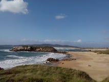Overweldigend strand in paradijs royalty-vrije stock afbeelding