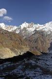 Overweldigende bergen Royalty-vrije Stock Afbeeldingen