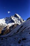 Overweldigende bergen Stock Afbeelding