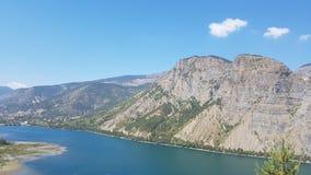 Overweldigende bergmeningen Stock Afbeelding