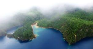 Overweldigende hommelmening van de lagunes van cincolagos NEEM 9 stock videobeelden