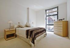 Overweldigende slaapkamer Royalty-vrije Stock Fotografie