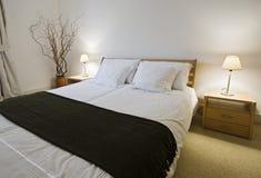 Overweldigende slaapkamer royalty-vrije stock foto