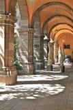 Overwelfde galerij binnen Bellas Artes, San Miguel DE Allende Stock Afbeeldingen