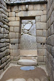 Overwelfde galerij in Machu Picchu Royalty-vrije Stock Afbeelding