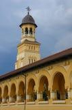 Overwelfde galerij van een Orthodoxe Abdij Royalty-vrije Stock Fotografie