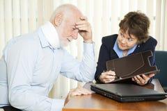 Overwhelming Medical Bills Stock Images