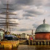 Overwinning in Greenwich stock fotografie
