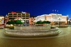 Overwinnings (Pobedy) vierkant in Kaliningrad Royalty-vrije Stock Foto