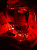 Overwogen wijn Stock Fotografie