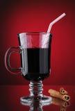Overwogen wijn Stock Foto