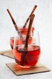 Overwogen wijn Royalty-vrije Stock Afbeeldingen