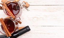 Overwogen wijn Royalty-vrije Stock Afbeelding