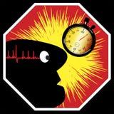 Overwork может быть смертелен Стоковое Изображение RF