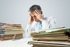 Overwork Stock Images