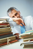 Overwork Royalty Free Stock Photo