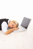 Overworked Fotografia de Stock