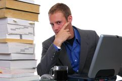 Overworked Stock Images