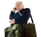 Overworked Executive stock image