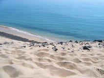 Overzees & zand Stock Afbeelding